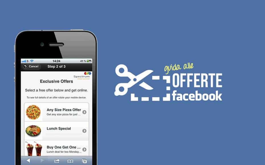 Guida offerte Facebook