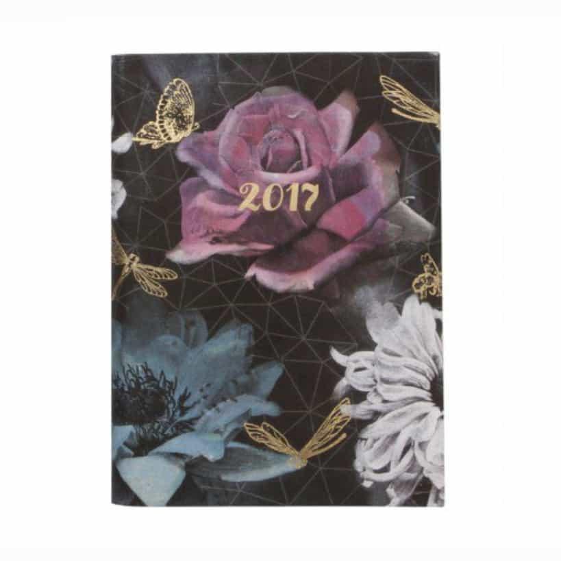 agenda 2017 gotica paperchase