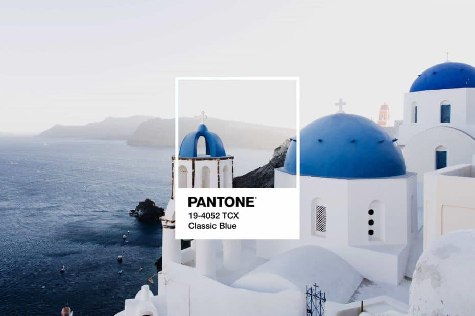 Colore Pantone 2020: Classic Blue