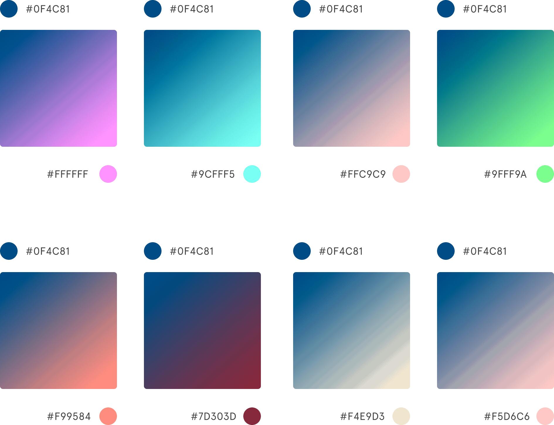 Colori Pantone 2020: Gradient Classic Blue