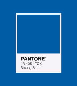 PANTONE 18-4051 Strong Blue