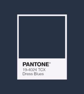 PANTONE 19-4024 Dress Blues